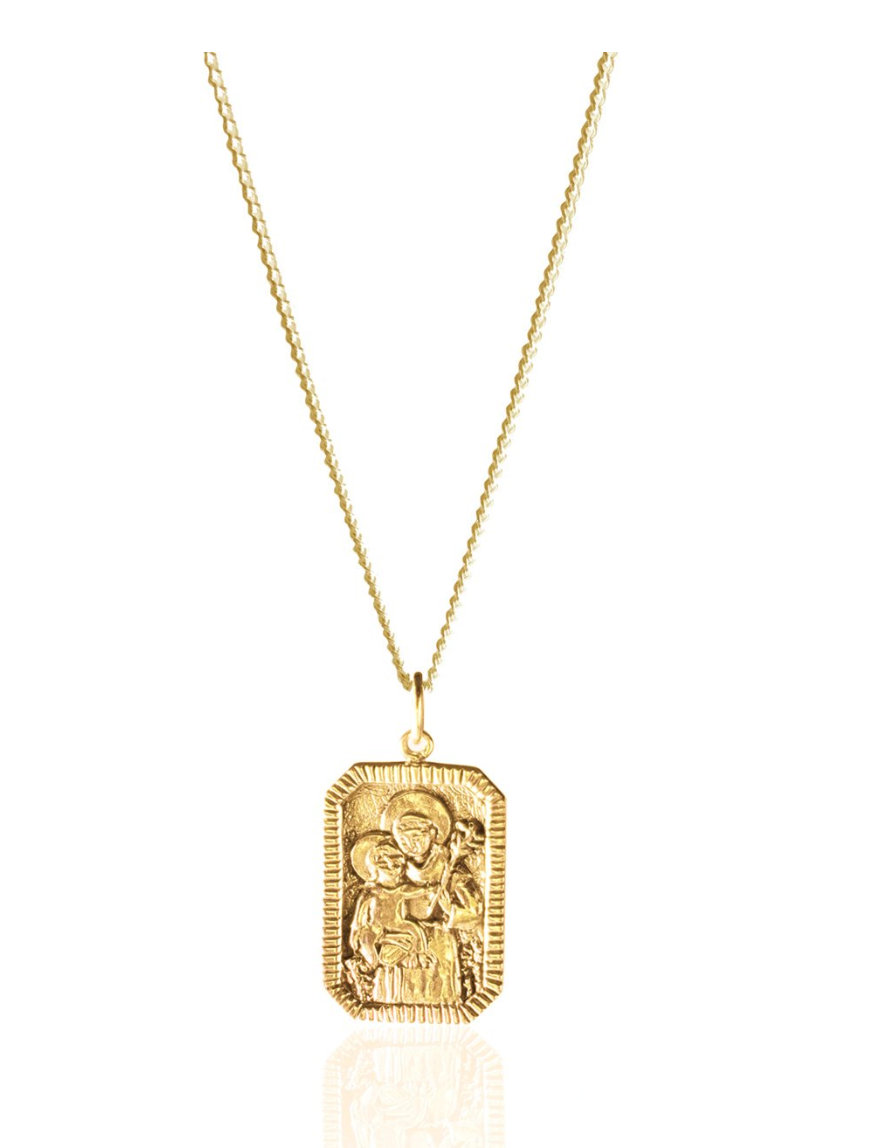 St Nicholas - Patron Saint of Children Necklace