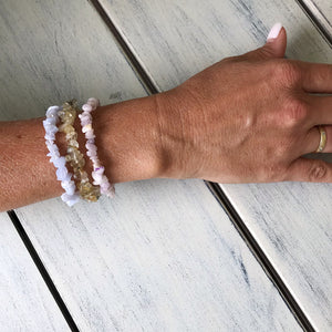 Communication Enhancer - set of 3 crystal bracelets