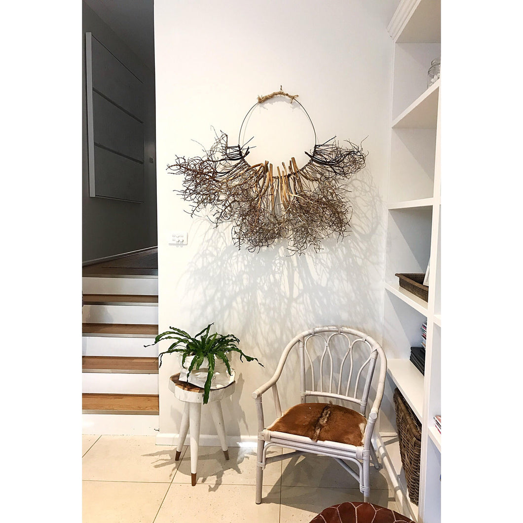 Palm Husk Wall Hanging