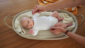 SALE: Haven Baby Changing Basket
