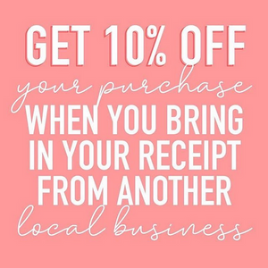 Want 10% OFF your purchase?