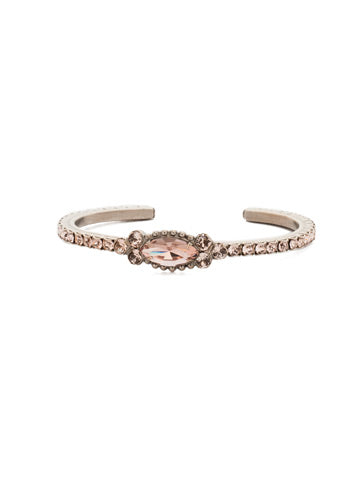 Marvelous Marquise Cuff Bracelet in Satin Blush