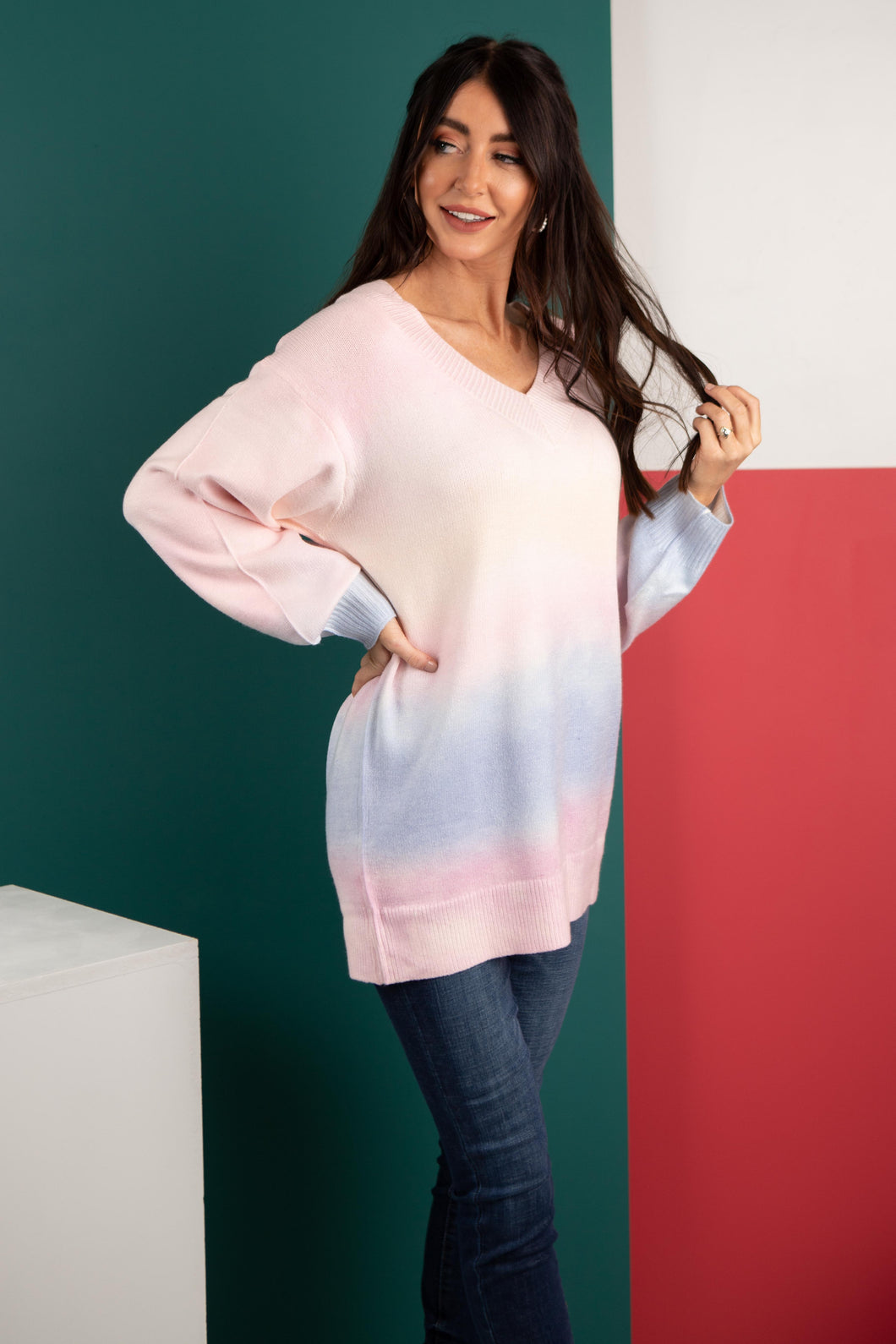 Hazy Sunset Sweater