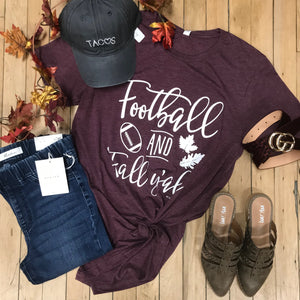 Football & Fall Y'all! Tee