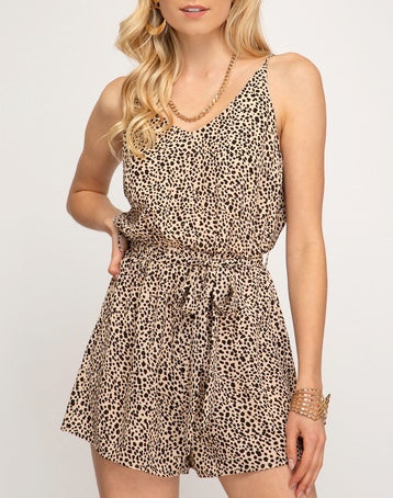 Wild Nights Romper