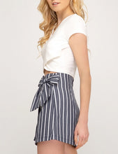 Bow Tie Wrap Skirt
