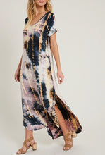 A Splash of Sunshine Tie-Dye Dress - Available in Plus Sizes