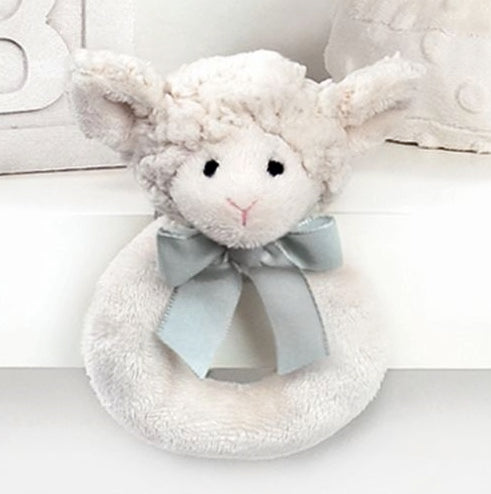 Little Lamby Baby Rattle