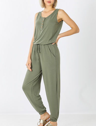 Remi Sleeveless Jumpsuit