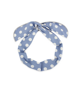 Jessie Polka Dot Wrap Headband