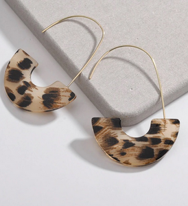 Jada Leopard Earrings