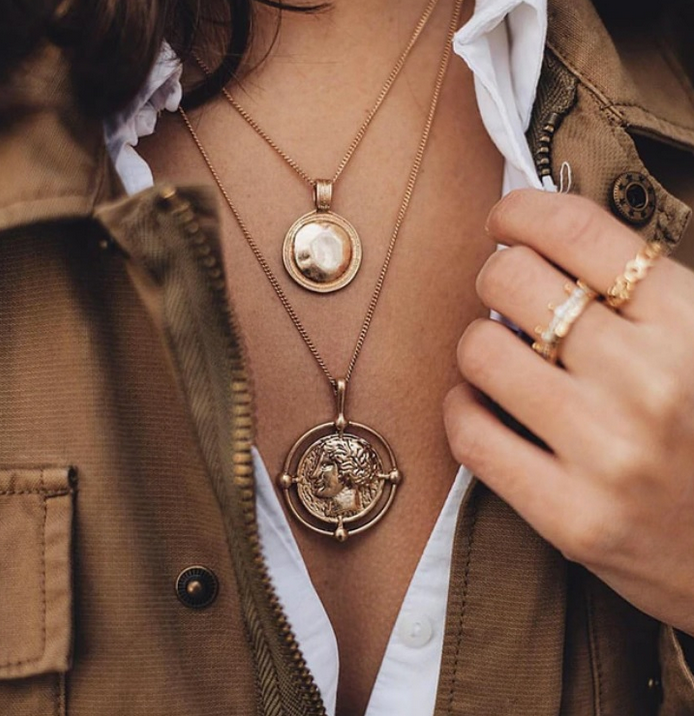 Inner Love Coin Necklace