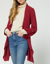 The Out and About Jacket in Ruby