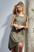 Sunset Views Midi Dress in Olive