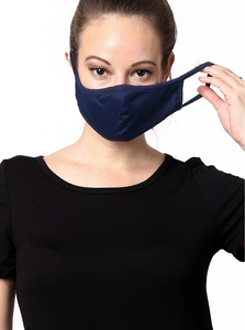 Keeping It Simple Face Mask in Navy
