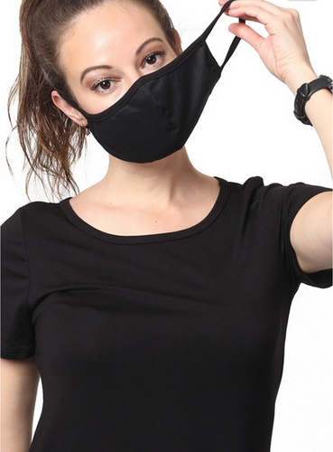 Keeping It Simple Face Mask in Black