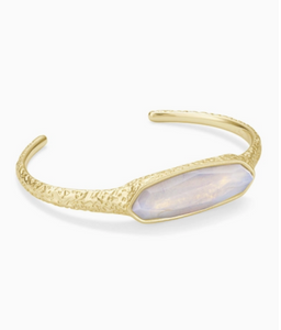 Kendra Scott Layla Gold Cuff in Opalite Illusion