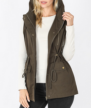 All The Best Military Vest in Olive