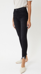 The Emma High Rise Ankle Skinny Jeans