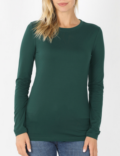 Keepin' It Casual Tee in Hunter Green