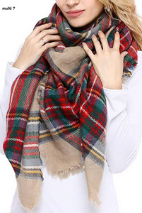 Cozy Up Blanket Scarf
