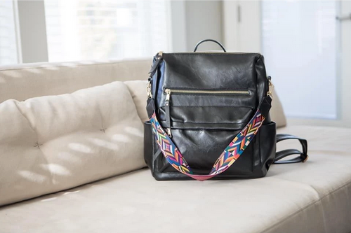 The Julia Covertible Bag in Black