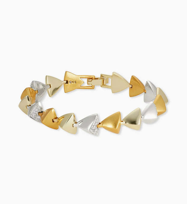 Perry Link Bracelet in Mixed Metal