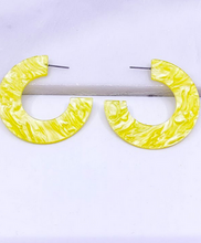 Summer Acetate Earrings