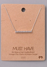 Must Have Bar Necklace
