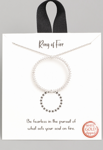 Ring of Fire Necklace