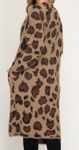 I Fall For You Leopard Sweater