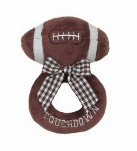 Touchdown Football Ring Rattle