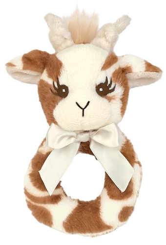 Little Patches Giraffe Ring Rattle