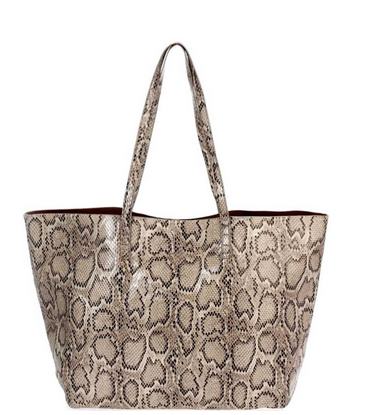 All The Feels Snake Print Bag
