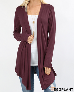 Evelyn Open Front Cardigan