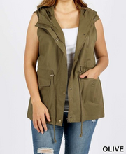 Everyday Military Vest - Available in Plus