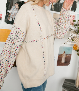 Confetti Oversized Sweater