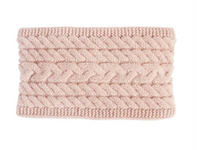Cable Fleece Headband
