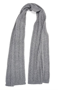 Cable Oblong Scarf