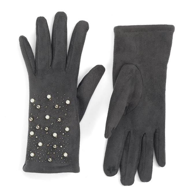 Pearl and Bling Gloves