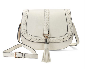 Dixie Braided Tassel Crossbody