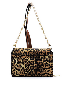 Take Me Anywhere Leopard Crossbody