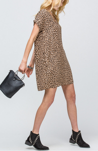Frankie Leopard Dress