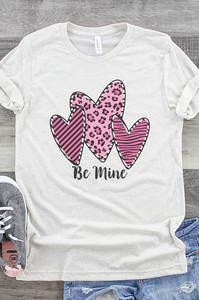 Be Mine Valentines Day Tee
