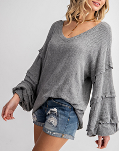 Sutton Over Sized Knit Top