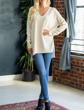 Meet Me For Coffee High-Low Sweater