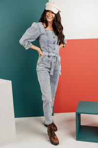 Sloane Square Neck Jumpsuit