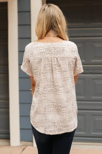 The Parker Printed Blouse