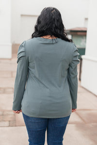 The Samantha Puff Sleeve Top