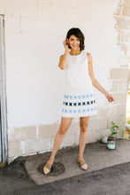 Camden Embroidered Shift Dress